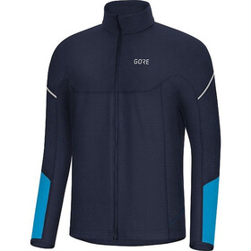 GORE WEAR M Thermo Longsleeve met Ritssluiting Heren, orbit blue/dynamic cyan